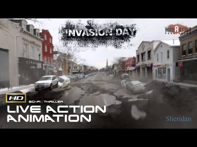 Invasion Day (HD) | The world is ending, We human stand together! (Sheridan)