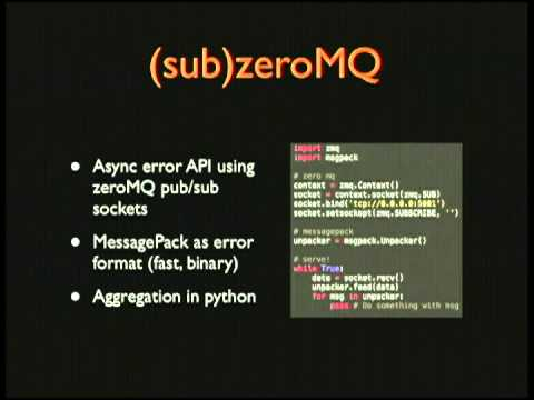 Image from Triage: real-world error logging for web applications