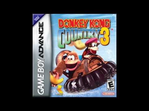 Donkey Kong Country 3 GBA - Enchanted River