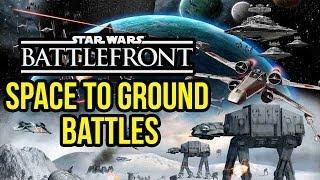 Star Wars Battlefront 3: Space to Ground Battles