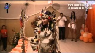 Baile con Traje Tipicos eleccion de la Reina de los II Juegos Interparroquiales Carache 2012 2.flv