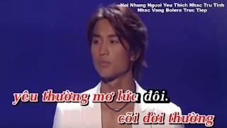 Karaoke Chuyện Tình Mộng Thường Thiếu Giọng Nữ Song Ca Akira Thịnh Nguyễn