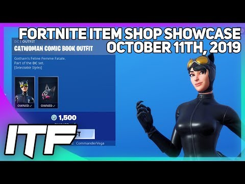 Fortnite Item Shop CATWOMAN SET IS BACK! [October 11th, 2019] (Fortnite Battle Royale)
