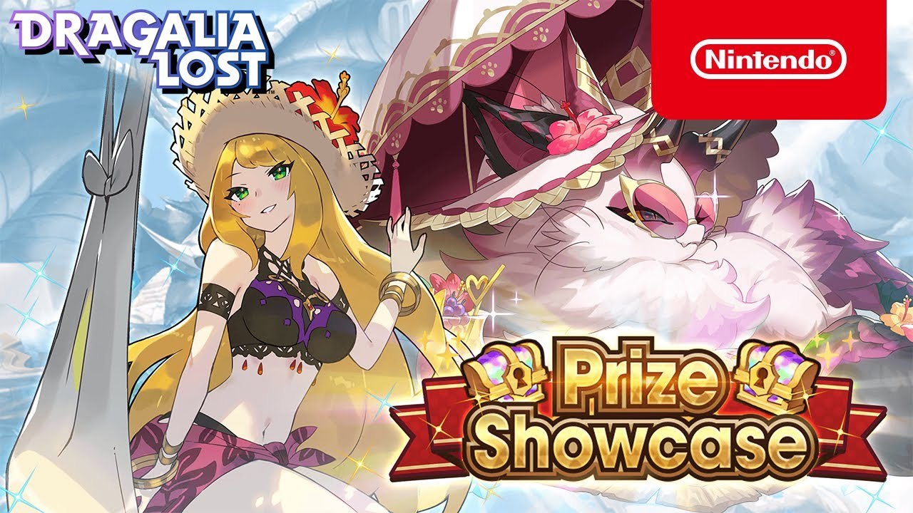 Dragalia Lost - Summer Chelle and Summer Cat Sìth Appear In Prize Showcase! (August 2021)