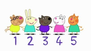 Peppa Pig Episodes - Learn to count