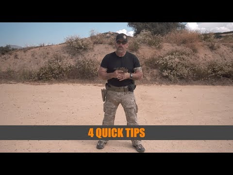 4 Quick Pistol Tips With Retired Navy SEAL Mark
