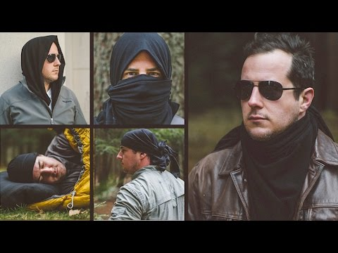 101 USES! Best Camping / Hunting / Tactical Survival Bandana, Scarf / Kerchief? You Decide...