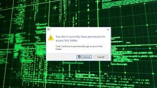 Hard Disk Access Denied! (Problem Solve!)