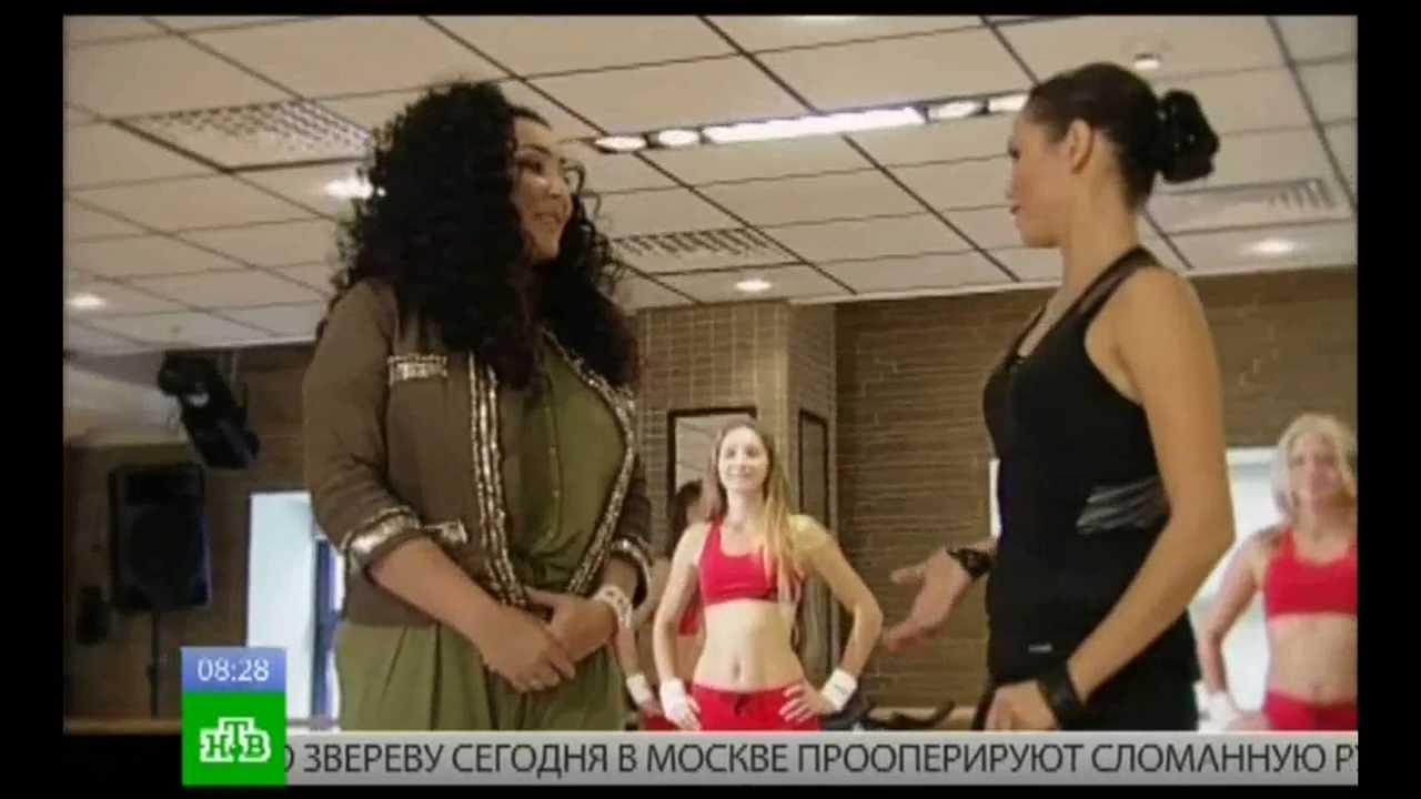 """Лолита в программе """"Зарядка с Ляйсан Утяшевой"""" 3 часть"""