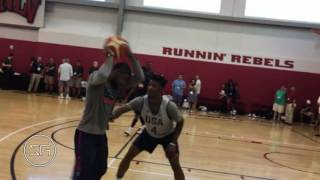 Kyrie Irving Takes On Kyle Lowry & Jimmy Butler 1-On-1 in Team USA Practice (2016)