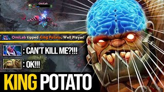 NEVER TIP THIS PUDGE!!! INSANE Master Tier Pudge By King Potato | Pudge Official