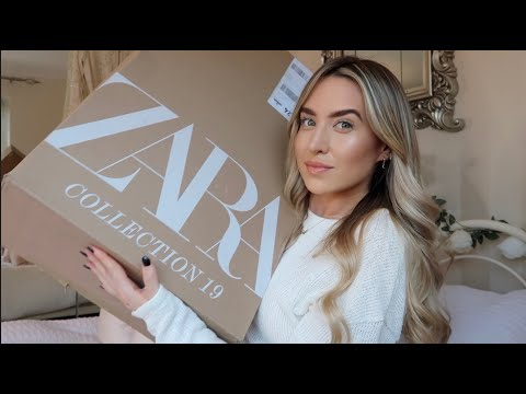 ZARA HAUL!! NEW SEASON WINTER CLOTHES | Freya Killin