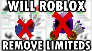 IS ROBLOX REMOVING LIMITEDS? (THEORYS + PREDICTIONS)