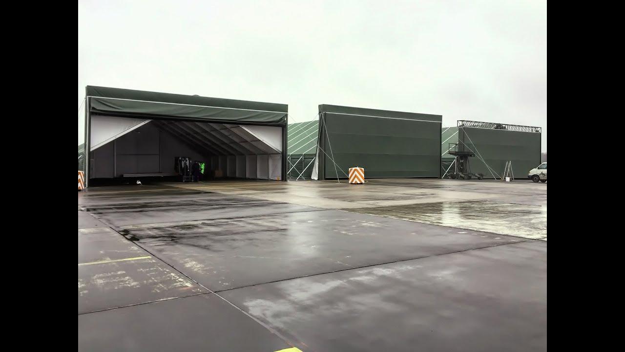 Military Aircraft Hangar Door Shipyarddoor Youtube