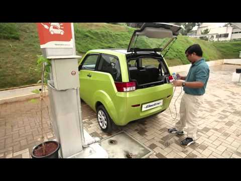 How do I charge the e2o? - Mahindra e2o