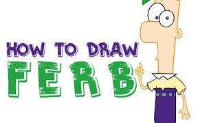 How to Draw Ferb from Phineas and Ferb