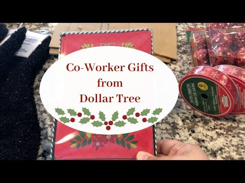 Co-Worker Gift Ideas From Dollar Tree!