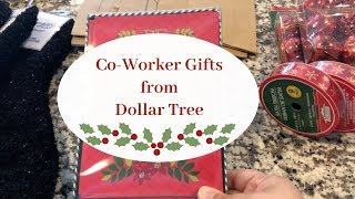 Co Worker Gift Ideas From Dollar Tree!