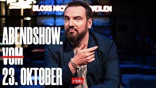 ABENDSHOW. vom 23.10.2020