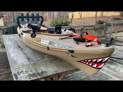 Old Town Vapor 10 Angler Mods