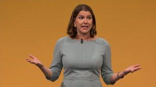 Live: Jo Swinson addresses Liberal Democrats conference    ITV News