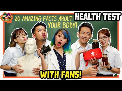 Health Ed Test With Fans! Who Is Smarter? thumbnail