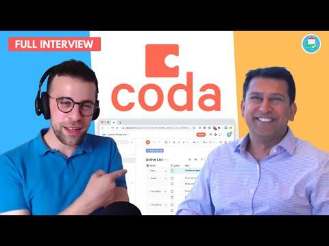 Coda CEO, Shishir Interviewed!