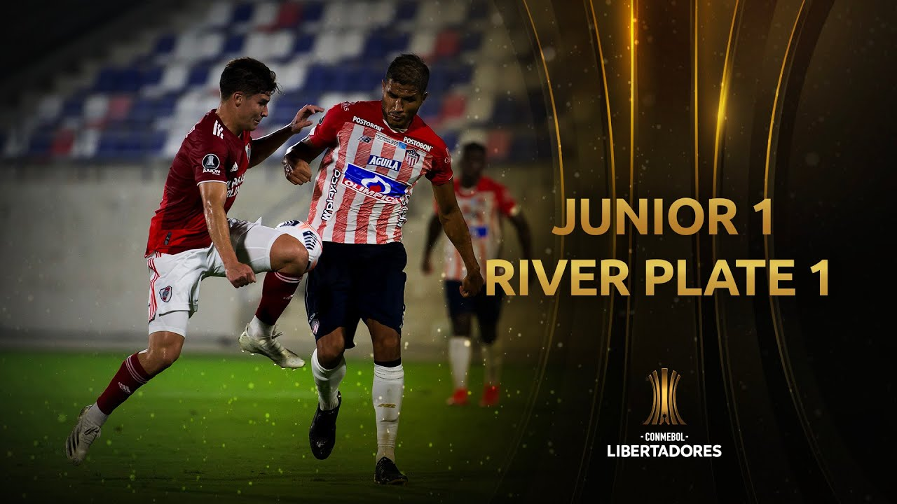 Junior vs. River Plate [1-1]   RESUMEN   Fecha 4   CONMEBOL Libertadores 2021