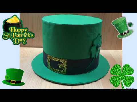 DIY: How to make a St Patrick's Day hat / leprechaun's  Hat.  Sombrero del dia de San Patricio