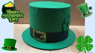 St Patrick s Day hat   leprechaun s Hat. Sombrero del dia de San Patricio a692b8feaca9