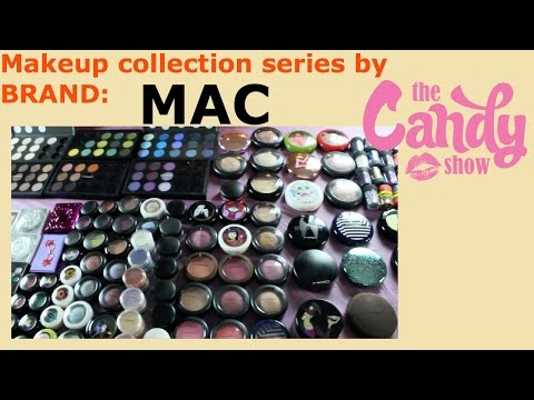 MAC cosmetics :My Makeup collection by Brand Series