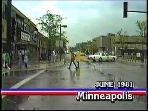 Early 1980's Tornados In Metro Twin Cities MN - News 11