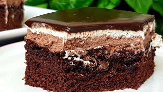 ШОКОЛАДНЫЙ Торт Пирожное нежное ☆Настоящее Райское наслаждение