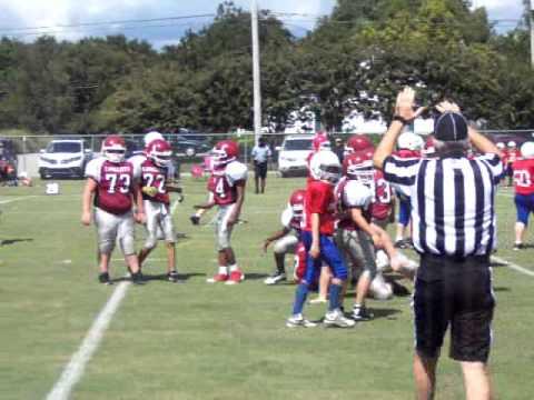 Tennessee, Crockett County Middle School 6th Grade Football