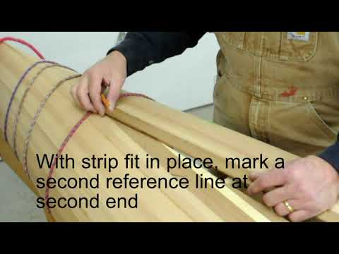 Building a wooden kayak hull