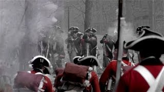 Free HD Stock Footage Guilford Courthouse Battle Reenactment 2013 Greensboro NC Revolutionary War