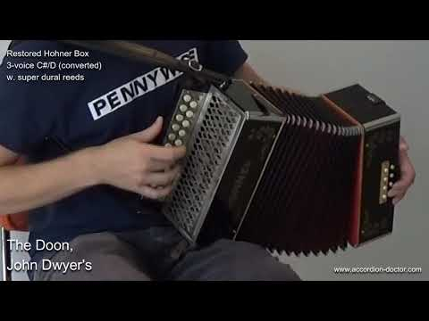 Button Accordions for Sale | Tuning and Repairs of Melodeons