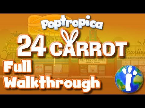 Download ★ Poptropica: 24 Carrot FULL Walkthrough ★