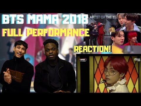 BTS MAMA 2018 Hong Kong FULL PERFORMANCE REACTION!