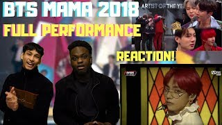 BTS MAMA 2018 Hong Kong FULL PERFORMANCE REACTION!