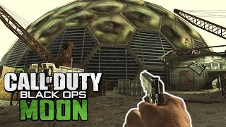 Daytime Moon Zombies -  Outside The Map Exploration! (call Of Duty Black Ops Zombies)
