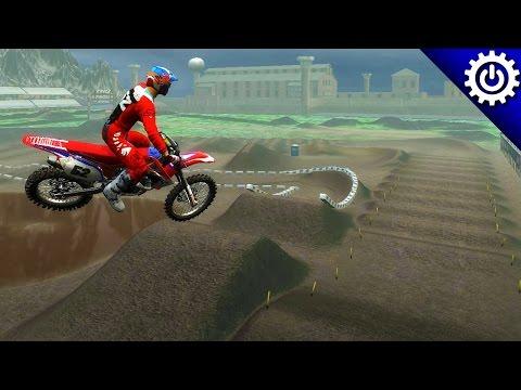 MX vs. ATV Reflex - Prison Yard SX - Custom Track Gameplay