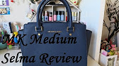 7b75faf4b04e Michael Kors Selma Silver Medium Satchel - YouTube