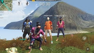 FREE FIRE LIVE - HEROIC RUSH RANK GAME PLAY