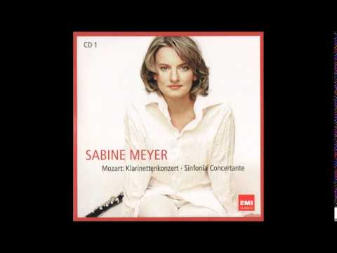Sabine Meyer, Mozart Clarinet Concerto In A Major Kv 622