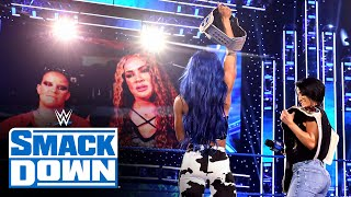 Nia Jax & Shayna Baszler call out Bayley & Sasha Banks ahead of Payback: SmackDown, August 28, 2020