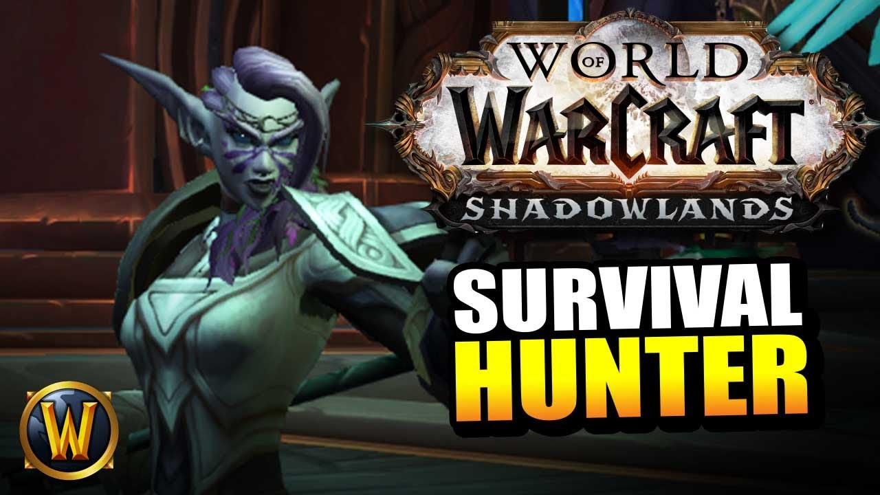 Survival Hunter on the Shadowlands Beta // World of Warcraft thumbnail
