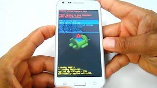 Samsung Galaxy Core Plus SM-G3500, G3502T, G3502l Hard reset, como formatar, desbloquear, restaurar