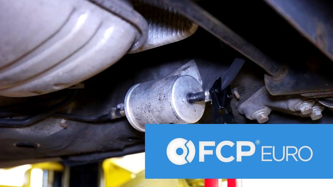 medium resolution of audi vw fuel filter replacement easy access service b5 passat audi a4