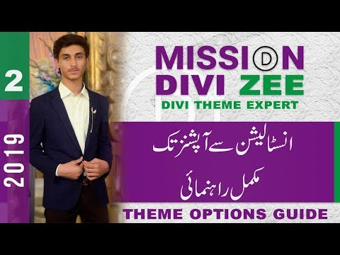 WordPress Divi Theme Installation and Theme Options Guide   Mission Divi Zee 2019